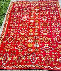 Hookah Rug Vintage Traditional And Tribal Moroccan Rugs Rental