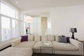 white livingroom living room of majestic white apartment design in amsterdam home