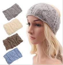 winter headbands knit boho style headbands women winter warm hairwrap 2015