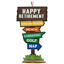 retirement hallmark ornament gift ornaments hallmark