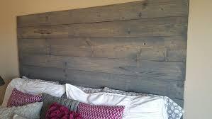amazon com custom made rustic wood plank headboard king handmade