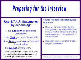 Situation Task Action Result Resume Examples by Winning Interviews Career Services 3rd Floor Wertz Student Center