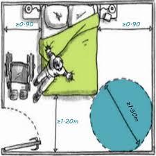 norme handicapé chambre accessibilité des chambres aménagées des erp aux personnes