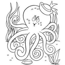 10 free printable octopus coloring pages