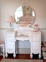 Bedroom Vanities With Mirrors by Vintage Style Ladies Vanity Dressing Table With Mirror Thisnext