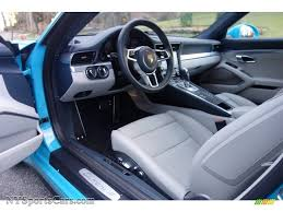 porsche graphite blue interior 2017 porsche 911 carrera 4 coupe in miami blue photo 14 106232