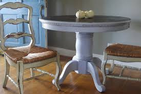Distressed Dining Room Tables by Space Saving With Unique Dining Room Distressed Table Regtangle