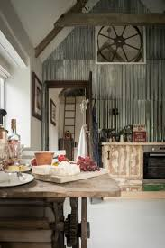this stunning cottage is filled with vintage finds and industrial