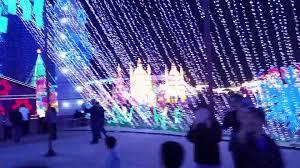 magical winter lights houston la marque tx magical winter lights youtube