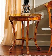 scrivania stile impero tavolo d appoggio in stile impero in frassino rotondo 135 60