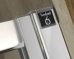 900 Bifold Shower Door by Twyford Geo6 Bi Fold Shower Enclosure Door 900mm G65200cp