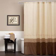 Green And Brown Shower Curtains Best 25 Brown Shower Curtains Ideas On Pinterest Guest Bathroom