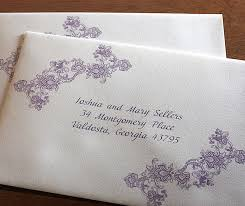 wedding invitations how to address custom wedding invitation envelope addressing invitations by ajalon