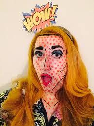 pop art comic halloween costume halloween fall ideas pinterest