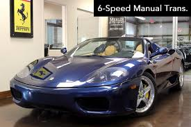 spider 360 price used 2004 360 stock p3211 ultra luxury car from merlin