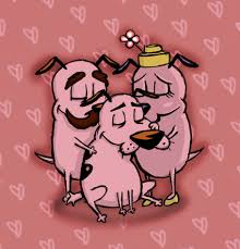 courage the cowardly dog a courageous family