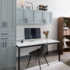ikea kitchen wall cabinets height creating your home office using ikea sektion kitchen
