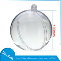 clear plastic ornament balls bauble uk free uk delivery on clear