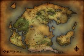 Dnd Maps Commission Too World Map By Jocarra On Deviantart