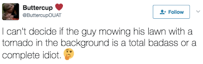 Badass Guy Meme - this guy mowed his lawn during a tornado and the memes will blow