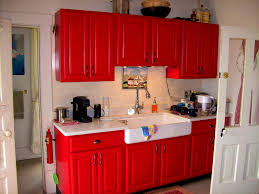 Red Painted Kitchen Cabinets by Bathroom Red Kitchen Cabinets Kitchen Cabinets Red Bank Nj U201a Red