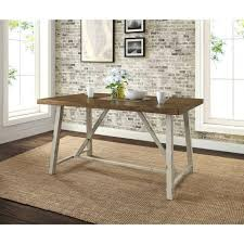 kitchen table distressed white kitchen table pleasing with bench