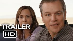 downsizing official trailer 1 2017 matt damon christoph waltz
