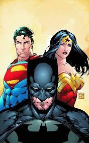 batman superman woman black hair
