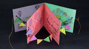 Designs Of Greeting Cards Handmade Diy Birthday Card Handmade Happy Birthday Card Making Step By