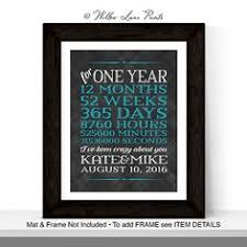 what to get husband for 1 year anniversary custom and personalized anniversary gifts for him husband or