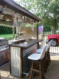 bar stools for outdoor patios 25 creative and simple diy outdoor bar ideas for your home diy