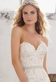 wedding dress belts cap sleeves morilee