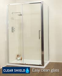 1500 Shower Door K2 Range 1500 Slider With Side Panel Sliding Door Enclosures