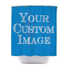 made to order custom shower curtain sharp shirter