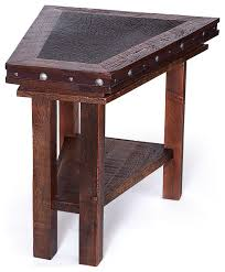 wedge shaped end table wedge coffee table architecture jsmentors corner wedge coffee