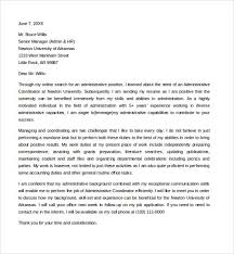 project coordinator cover letter example project administrator