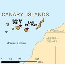 africa map islands canary islands interactive map canary islands basic map