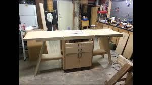 folding work bench youtube