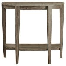 half moon table target accent table half moon shape dark taupe everyroom target