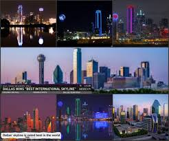 The Lot Dallas by Dallas Skyline Claims Top Spot In 10best Readers U0027 Choice Travel Awards