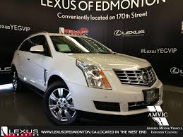 used lexus suv for sale ottawa used white 2015 cadillac srx awd luxury in depth review
