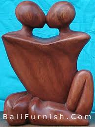 abstract wood carving wood sculptures from bali