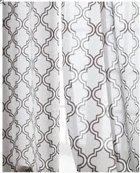 Trellis Curtain Panel Horchow Ambrosia Sheer Curtains Copycatchic