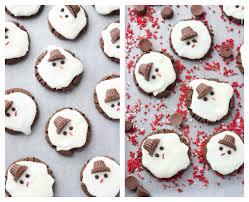 day 7 of 12 days of cookies melting snowmen cookies little broken