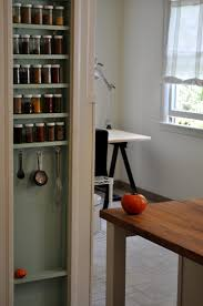 build cabinet spice rack pull out sliding kitchen built in under
