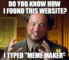 Meme Maker Website - do you know how imgflip