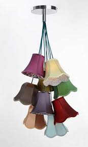 Mini Lamp Shades For Chandelier Traditional Lampshade Cluster Light Nine Lamp Shade Diy Home