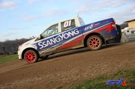 rallycross truck first client tests circuit jules tacheny ssangyong rx cup