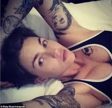 ruby rose vows to decrease her bust size as she begins pre wedding