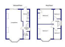 semi detached house floor plan semi duplex house plans the best wallpaper